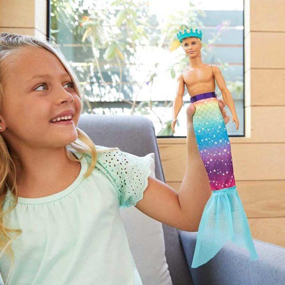 Papusa Barbie Ken 2 in 1 Print si Siren 3