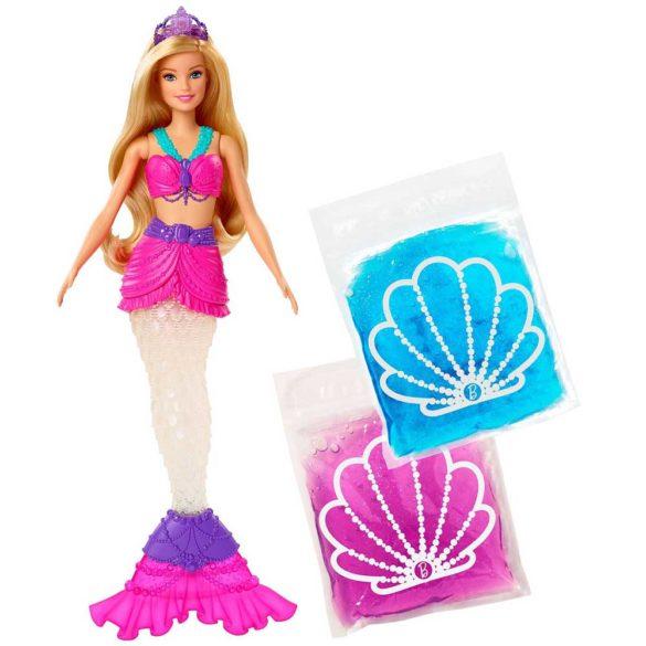 Papusa Sirena Barbie Dreamtopia cu Slime