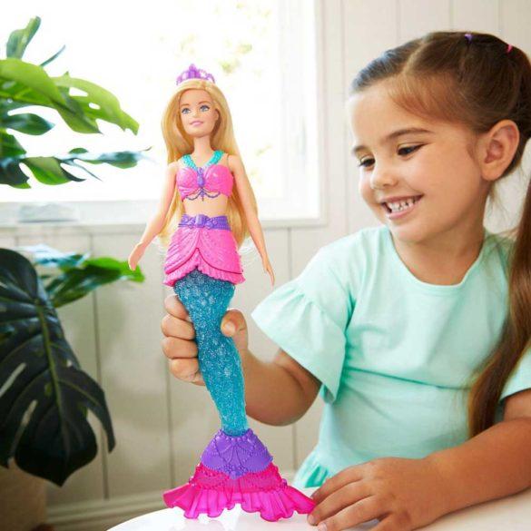 Papusa Sirena Barbie Dreamtopia cu Slime 2