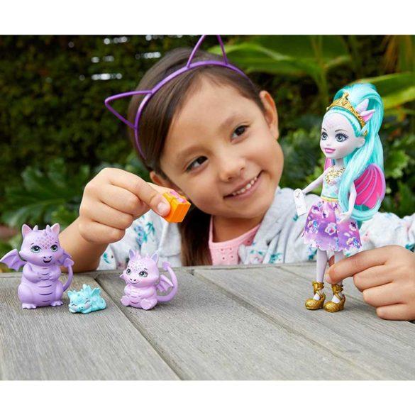 Set de joaca Enchantimals Familia Deanna Dragon 2