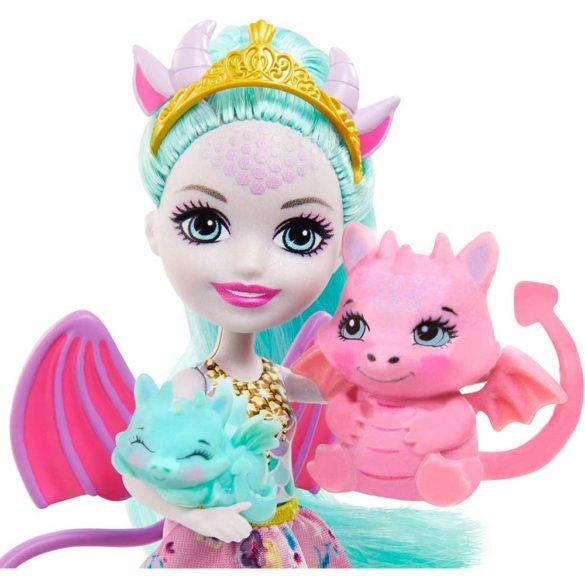 Set de joaca Enchantimals Familia Deanna Dragon 3