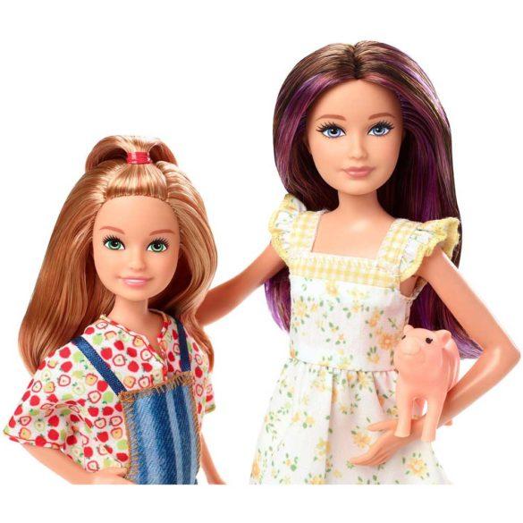 Barbie si Ferma de Vis Set Papusa Skipper si Stacie 2