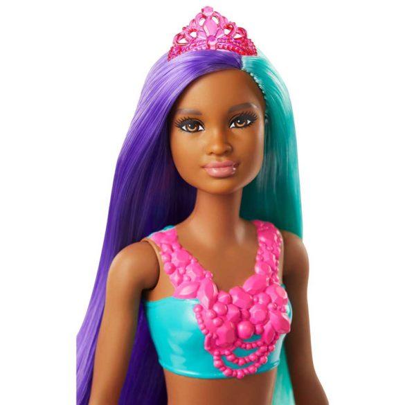 Papusa Barbie Sirena Galbena 2