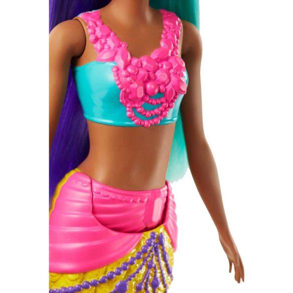 Papusa Barbie Sirena Galbena 3