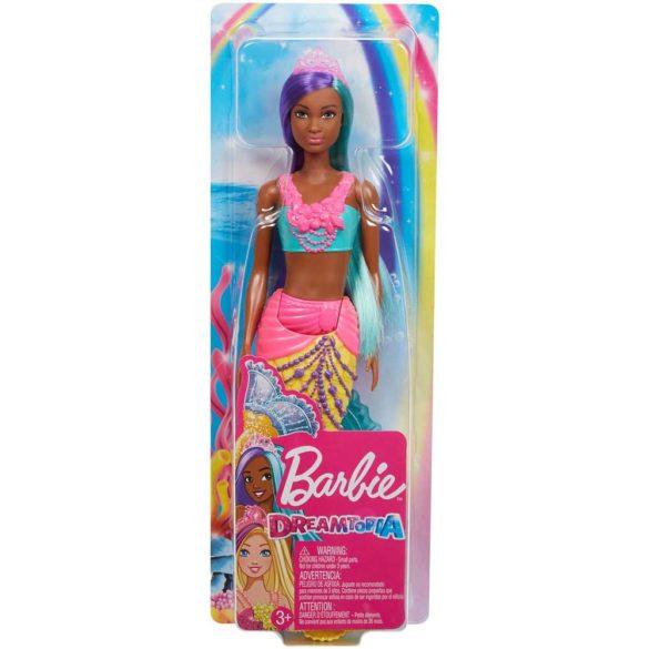Papusa Barbie Sirena Galbena 6