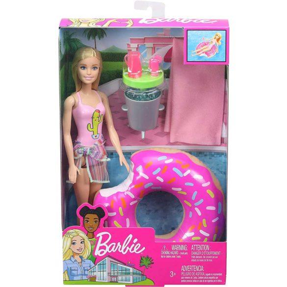 Set de joaca cu Papusa Barbie la Piscina 4