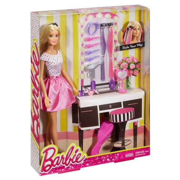 Barbie Style Your Way Pachet Papusa si Accesorii 3