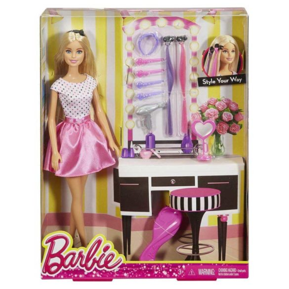 Barbie Style Your Way Pachet Papusa si Accesorii 4