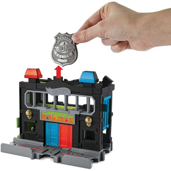 Hot Wheels City Sectia de Politie cu Masinuta 4