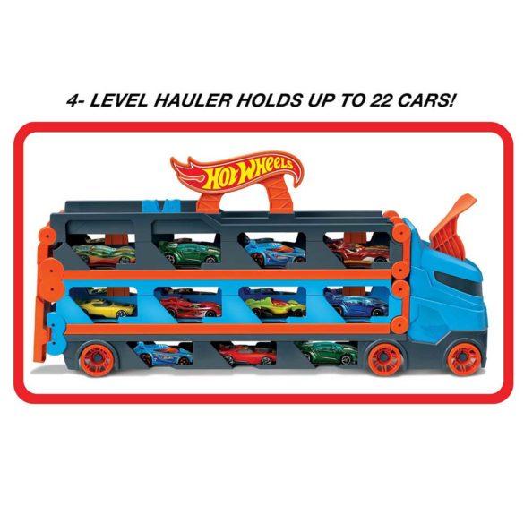 Hot Wheels Speedway Hauler Camion de transport masini 4