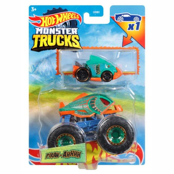 Masinuta Hot Wheels Monster Trucks Piran-Ahhhh