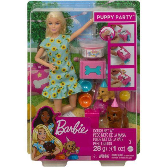 Set de Joaca cu Papusa Barbie Aniversarea Catelusilor 7