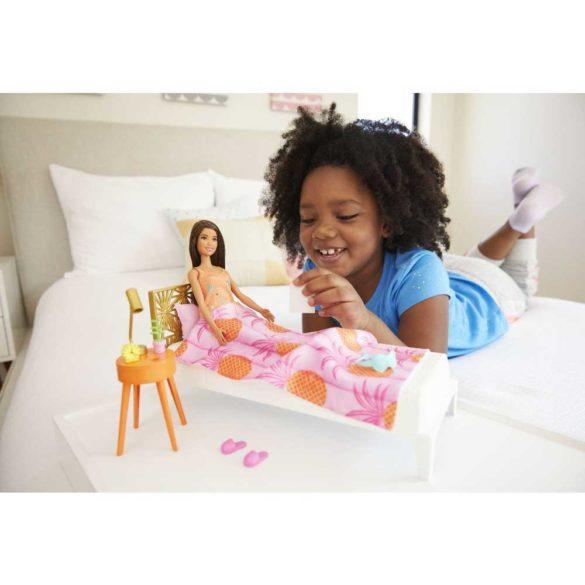 Set de Joaca cu Papusa Barbie si Mobilier Dormitor 2