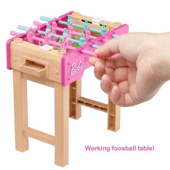 Set de Mobilier Barbie Masuta de Fotbal cu Figurina 2