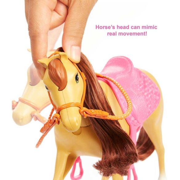 Set de Joaca cu Papusa Barbie Chelsea si 2 Caluti 4