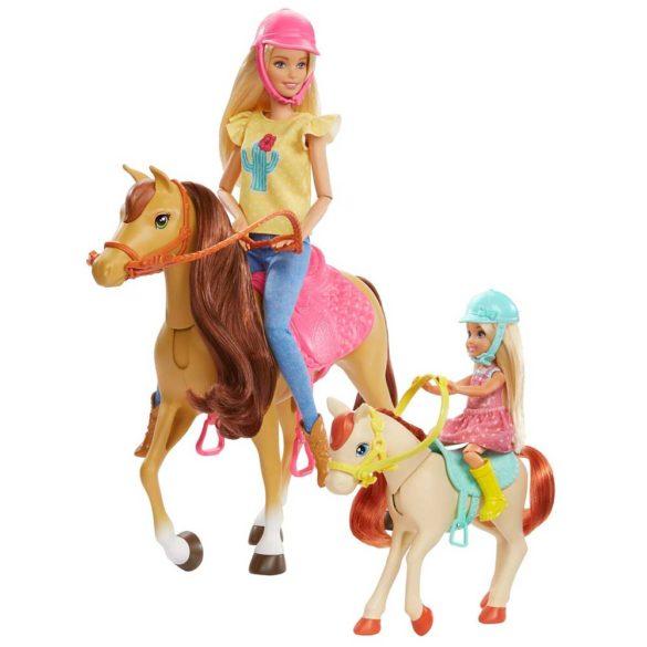 Set de Joaca cu Papusa Barbie Chelsea si 2 Caluti 5