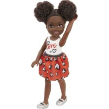 Barbie Club Chelsea Papusa AA cu Top Alb 1
